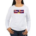 Free Tibet Women's Long Sleeve T-Shirt