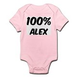 100 Percent Alex Infant Bodysuit
