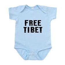 Free Tibet Infant Bodysuit