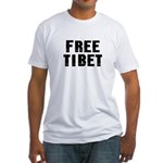 Free Tibet Fitted T-Shirt