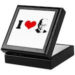 I Heart The Dalai Lama Keepsake Box