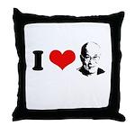 I Heart The Dalai Lama Throw Pillow