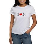 I Heart The Dalai Lama Women's T-Shirt