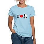 I Heart The Dalai Lama Women's Light T-Shirt