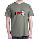 I Heart The Dalai Lama Dark T-Shirt