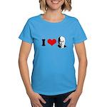 I Heart The Dalai Lama Women's Dark T-Shirt