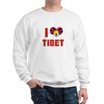 I Love Tibet Sweatshirt
