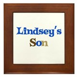 Lindsey's Son Framed Tile