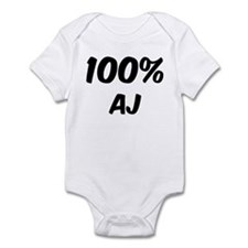 100 Percent Aj Infant Bodysuit