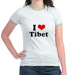 Free Tibet Jr. Ringer T-Shirt