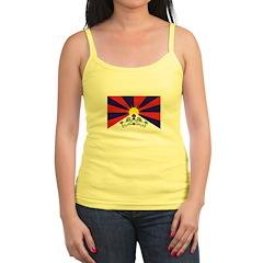 Flag of Tibet Jr. Spaghetti Tank