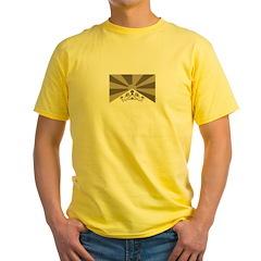Tibetan Flag Yellow T-Shirt