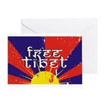 Free Tibet Greeting Card