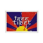 Free Tibet Rectangle Magnet (10 pack)