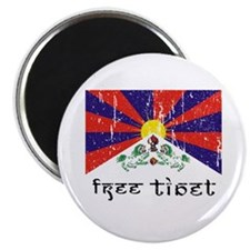 "Free Tibet 2.25"" Magnet (100 pack)"