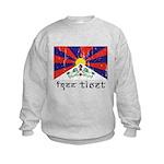 Free Tibet Kids Sweatshirt