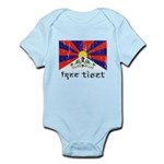 Free Tibet Infant Bodysuit