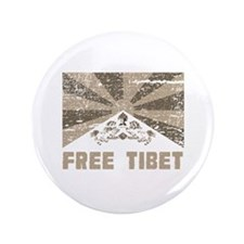 "Free Tibet 3.5"" Button (100 pack)"