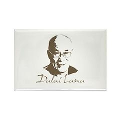 Dalai Lama Rectangle Magnet (10 pack)
