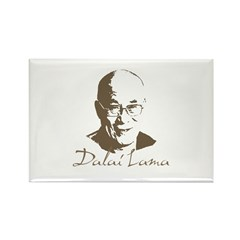 Dalai Lama Rectangle Magnet