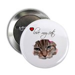 LOVE MY CATS Button