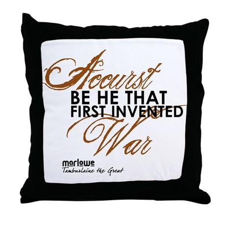 Tamburlaine Throw Pillow
