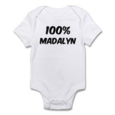 100 Percent Madalyn Infant Bodysuit