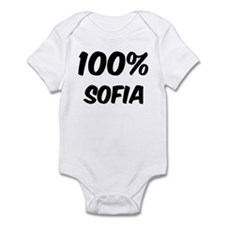 100 Percent Sofia Infant Bodysuit