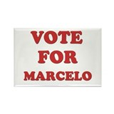 Vote for MARCELO Rectangle Magnet