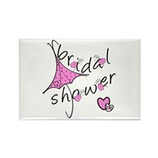 Bridal Shower Rectangle Magnet (10 pack)