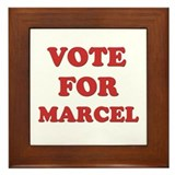 Vote for MARCEL Framed Tile