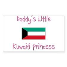 Daddy's little Kuwaiti Princess Decal