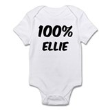 100 Percent Ellie Infant Bodysuit