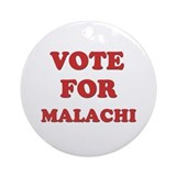 Vote for MALACHI Ornament (Round)