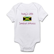 Daddy's little Jamaican Princess Infant Bodysuit