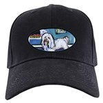 HAVANESE unique Designs Black Cap