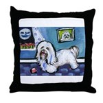 HAVANESE unique Designs Throw Pillow