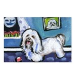 HAVANESE unique Designs Postcards (Package of 8)