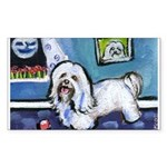 HAVANESE unique Designs Rectangle Sticker