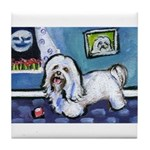 HAVANESE unique Designs Tile Coaster