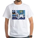 HAVANESE unique Designs White T-Shirt