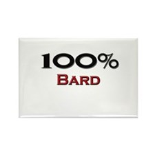 100 Percent Bard Rectangle Magnet (10 pack)