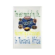 Tanzania, Africa Rectangle Magnet