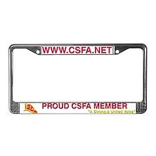 CSFA License Plate Frame