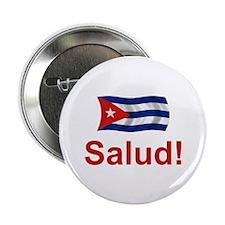 """Cuban Salud! 2.25"""" Button"""