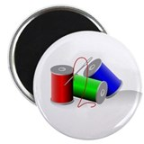Colorful Thread Spools - Sewi Magnet