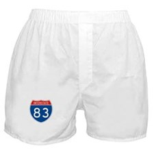 Interstate 83, USA Boxer Shorts