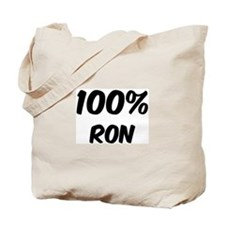 100 Percent Ron Tote Bag