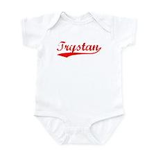 Vintage Trystan (Red) Infant Bodysuit