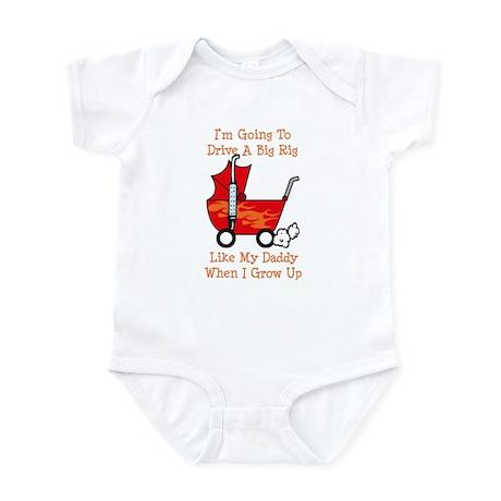 Stroller Big Rig Like Daddy Infant Bodysuit